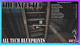 All Technology Blueprints #3 | The Infected