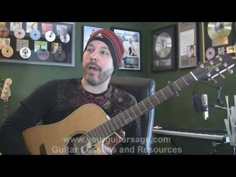 The Man Who Can't Be Moved by The Script - Guitar Lessons for Beginners Acoustic songs
