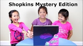 Target Exclusive Shopkins Mystery Edition - Opening and Review!  NEON COLORS!  A Christmas Must!