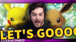 Pokémon Let's GO ANNOUNCED!!!!