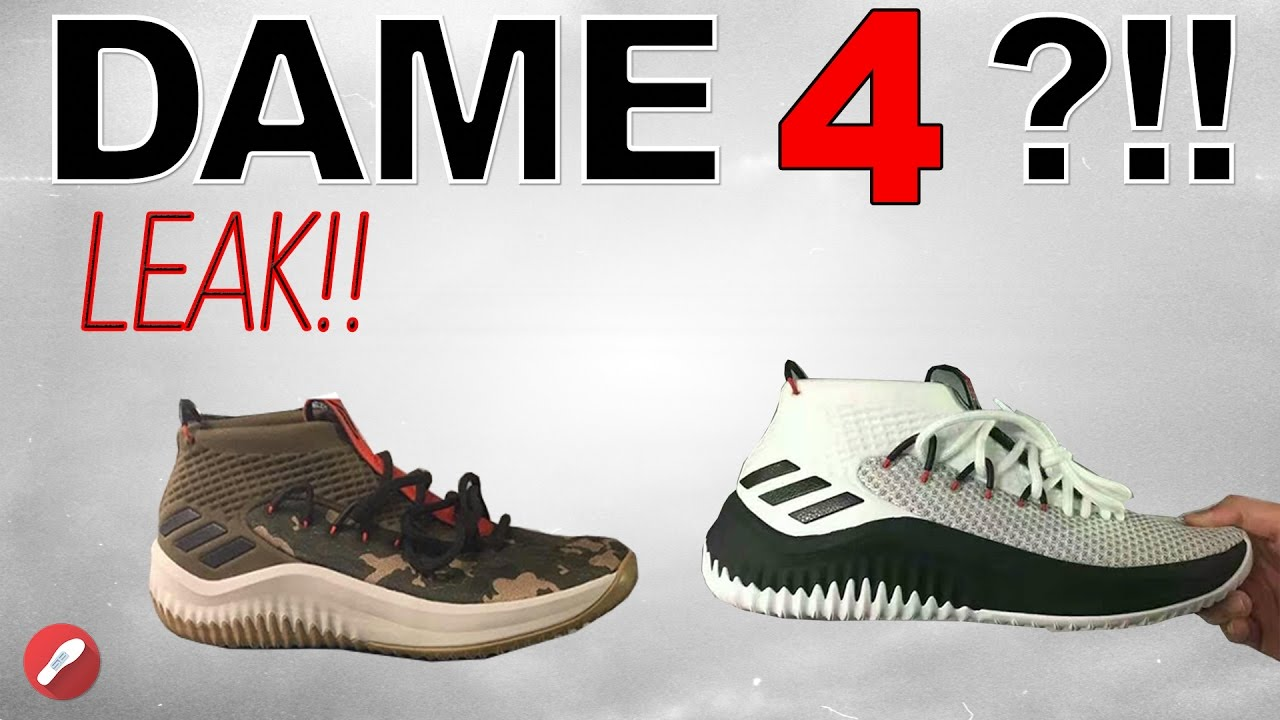 best website 81608 f9653 Adidas Dame 4 Leak! (D Lillard 4)