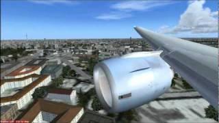 FSX Boeing 777-200ER Flight from Vienna to Berlin (Austrian Airlines)