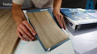 Artesive WD-057 Dark Wood - Texture Model of Self-adhesive Film