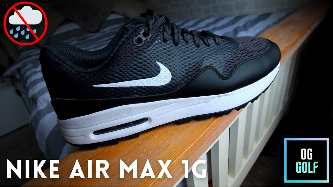 Nike Air Max 1G Golf Shoe Review. One MAJOR problem! Should you buy???