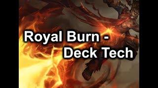 Eternal Top Decks - Burn Queen v2 aka Royal Burn | Deck Tech