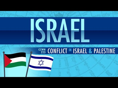 Thumbnail: Conflict in Israel and Palestine: Crash Course World History 223