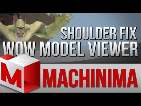 Machinima Tutorial - WoW Model Viewer Shoulder and Hairstyle