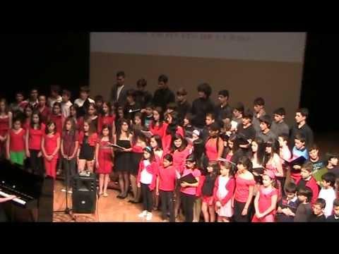 ¡¡ Alumnos de Lenguaje Musical cantando un coro de ópera de  G. VERDI !!