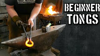 A Different Way of Forging Beginner Blacksmith Tongs