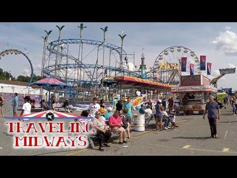 TRAVELING MIDWAYS VLOG: DEGGELLER ATTRACTIONS - Maryland State Fair 2017 (Timonium, MD)