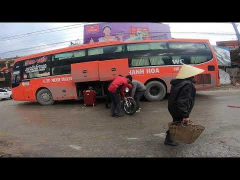 TOUR Xuyên Việt |  Cách Gửi Xe Máy Từ Sapa Về Hà Nội - Đi Xe Giường Nằm.