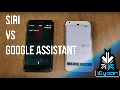 Siri vs Google Assistant India Edition  - iGyaan 4K