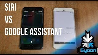 Siri vs Google Assistant India Edition  - iGyaan 4K