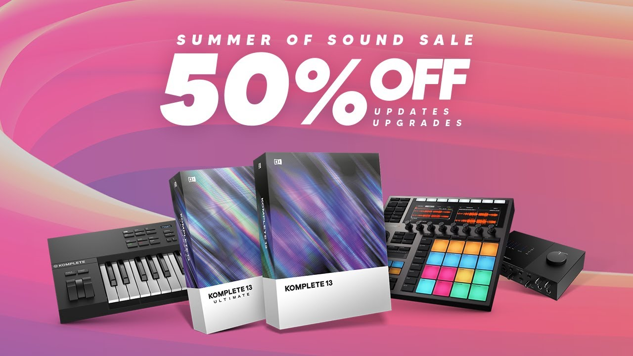 Save Big with Summer of Sound | Native Instruments