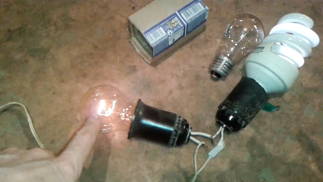 Как заменить люминесцентные лампы в светильниках на светодиодные .