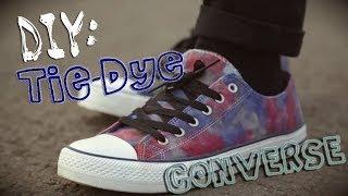DIY: Tie-Dye CONVERSE(, 2014-06-20T20:25:27.000Z)