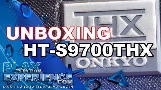 UNBOXING - Onkyo HT-S 9700 THX