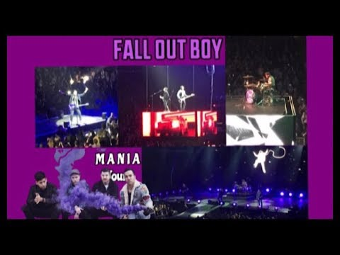 FALL OUT BOY | M A N I A Tour - 10.20.17 Cleveland, OH