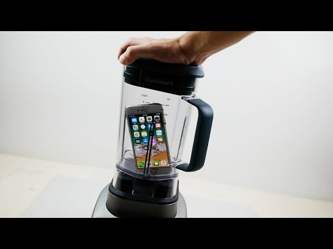 Will it Blend? - iPhone 8 vs Samsung Galaxy S8
