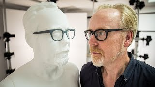 Adam Savage Gets Scanned and Replicated in Foam!