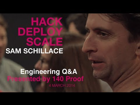 Sam Schillace, SVP Engineering of Box, at Hack Deploy Scale