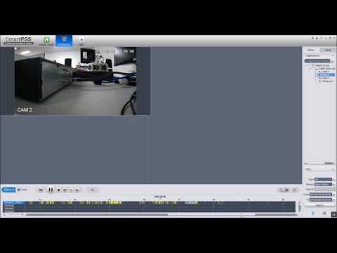 CAMX CCTV: Playback Recorded Video With SmartPSS