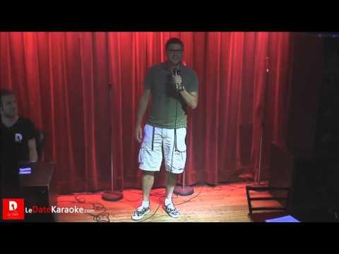 Lame Karaoke performance