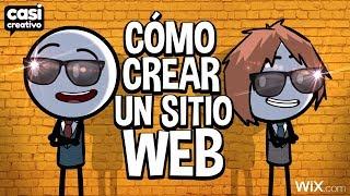 Cómo crear un sitio web | Casi Creativo