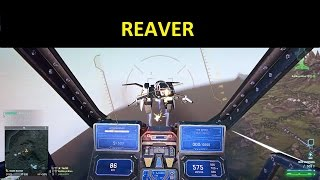 Planetside 2 - Reaver gameplay with commentary for help and tips