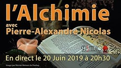 Alchimie avec Pierre-Alexandre Nicolas en direct le 20.06.2019
