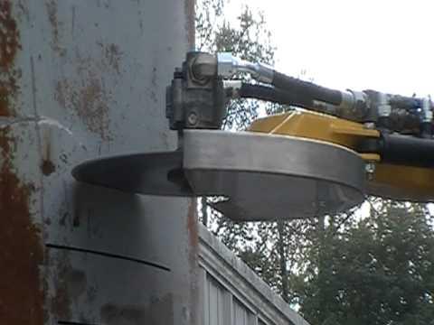 Brokk Saw 12 Inch Horizontal Cut T 250 Inch 1 Mod Youtube