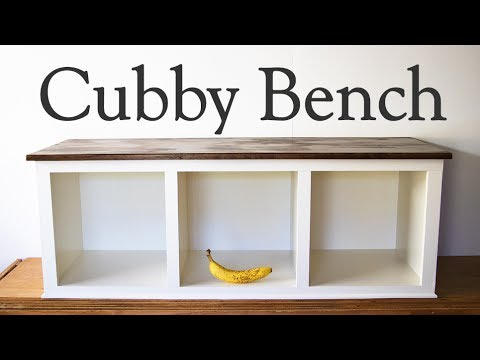 Cubby Bench How To Make A Mud Porch Or Entry Way Moderate Diy Woodworking