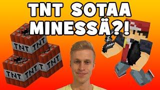 TNT SOTAA MINESSÄ?! | Bomb Lobbers! [Minecraft]