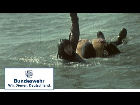 Classix: Unter Wasser - Schwimmtaucherausbildung bei der Marine (1975) - Bundeswehr
