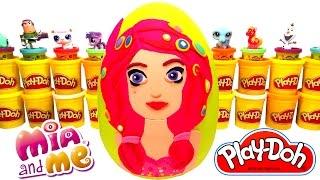 Mia ve Ben Mia Sürpriz Yumurta Oyun Hamuru - Mia ve Ben LPS MLP Hello Kitty Oyuncakları