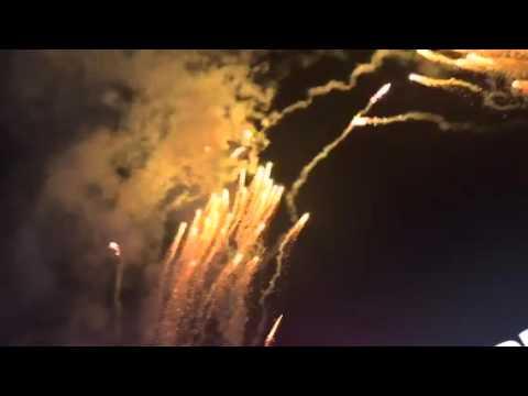 Denver Broncos Win Super Bowl 50 Fireworks At Levi Stadium #SB50