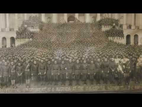 The fighting 5th regiment, US Marines at the US capital Aug 12th, 1919