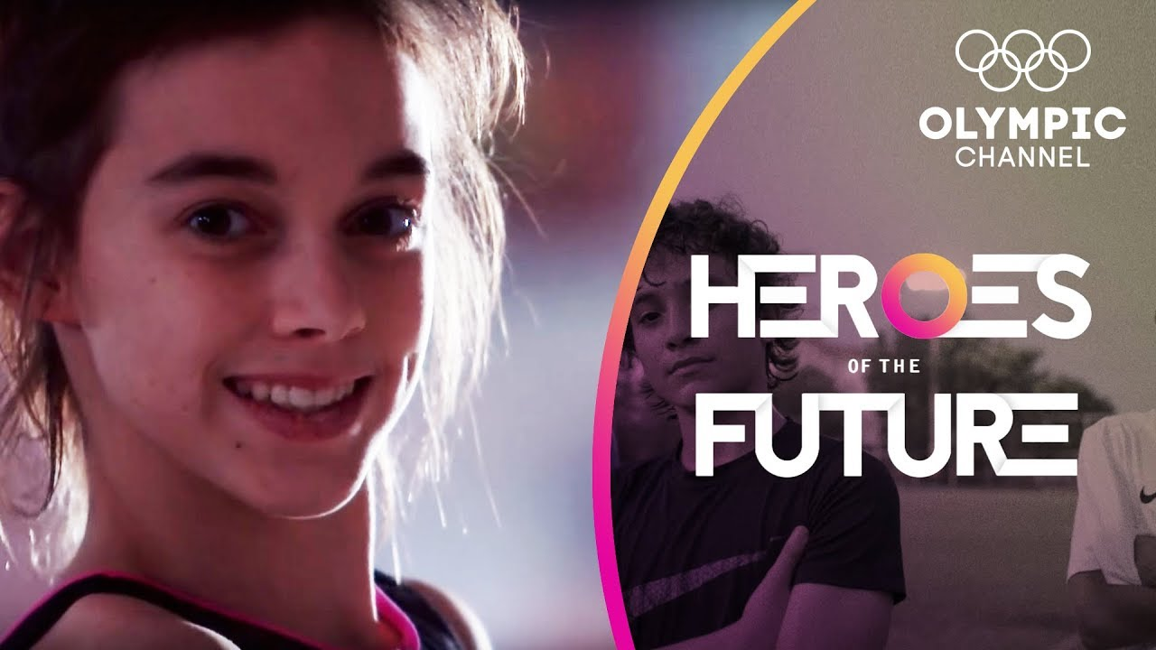 Italy's gymnastics future belongs to a 12-year-old phenomena   Heroes of the Future