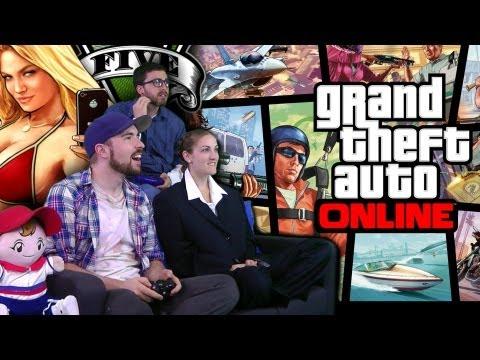 Grand Theft Auto Online Attempt FAIL!