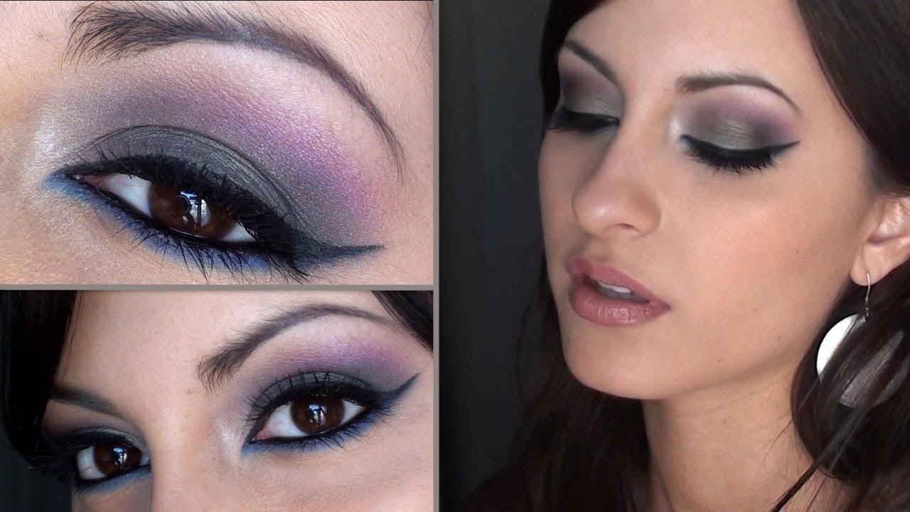 maquillage yeux marrons libanais