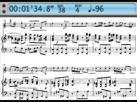 A. Vivaldi- Violin concerto in A minor, RV 356 mov.1