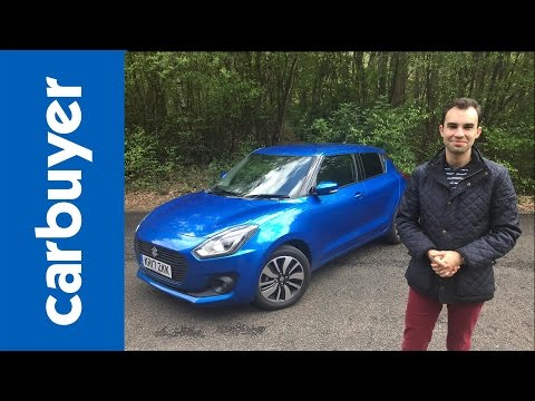 Thumbnail: New Suzuki Swift 2017 review – Carbuyer – James Batchelor