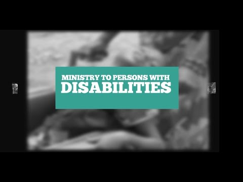 Ministry To Persons With Disabilities (MPWD)