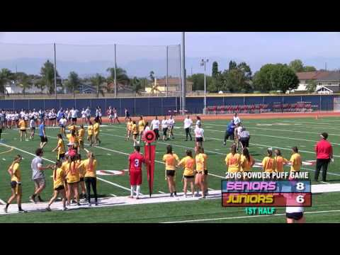 Los Al HS Powder Puff Foot Ball Game - June 10th, 2016