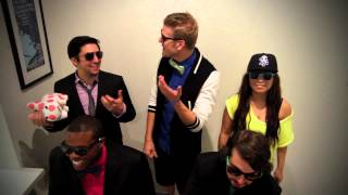 Repeat youtube video Pentatonix - Gangnam Style Bloopers!!