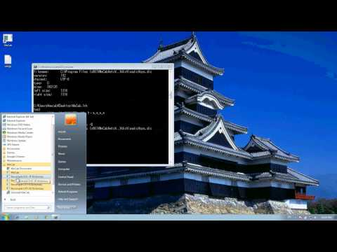Installing and Troubleshooting MeCab on Windows 7 (64 bit)