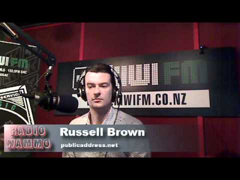 Russel Brown: Cameron Slater found Guilty 15-9-10 Radio Wammo Show, Kiwi FM