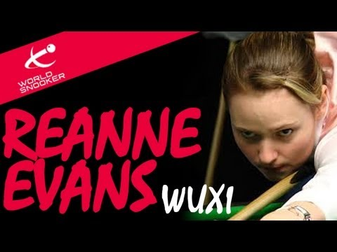 Reanne Evans interview from Wuxi