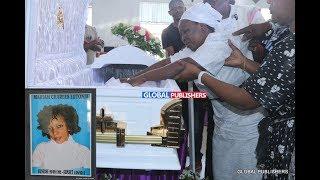 MAJONZI: Kuagwa Kwa Mwanakwaya Aliyeuawa Gesti
