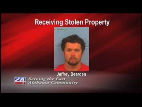 One Charged with Receiving Stolen Property